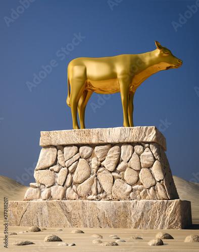 Papiers peints Statue Golden Calf