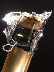 Goulot de bouteille de Champagne