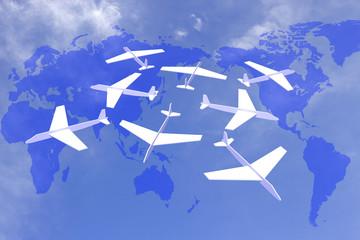 ハブ空港イメージ