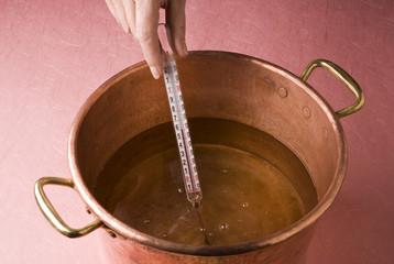 Préparation du sirop