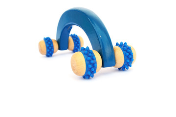 Wooden massager tool