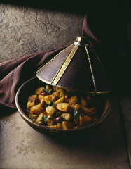potato and olive tajine