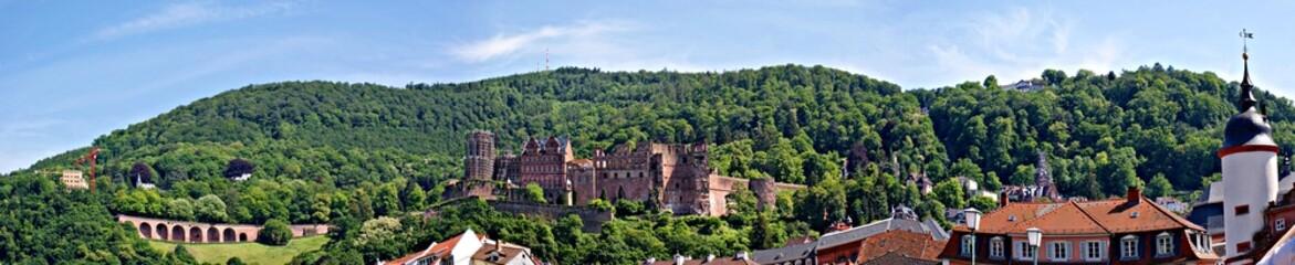 Panorama Heidelberger Schloss