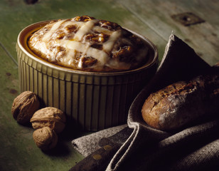 walnut and pheasant terrine
