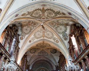 Il soffitto del Santuario della Beata Vergine delle Grazie (MN)