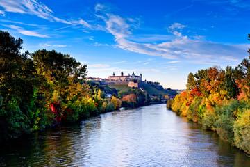 Würzburg, Festung, Herbst