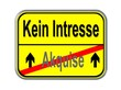 Akquise - kein Interesse