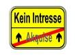 Akquise - kein Interesse