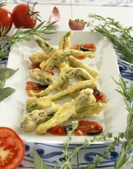 Asparagus Tempuras