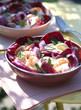 Endive and shrimp salad