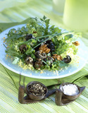 Walnut and snail salad