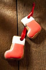 Nikolausstiefel aus Lebkuchen