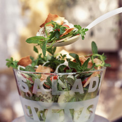 Lebanese country salad