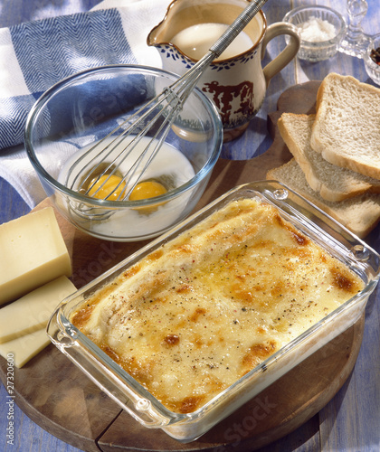 baked cheese flan