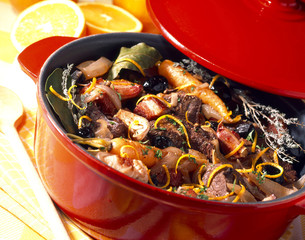 Beef Daube with orange