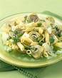 Pasta and artichoke salad