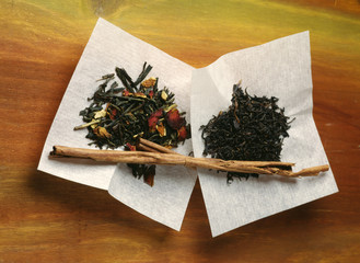 Teas perfumed with cinnamon