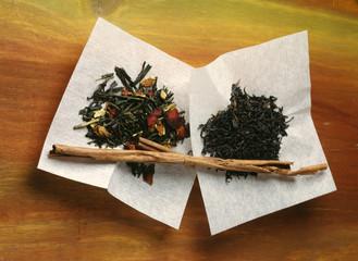 Teas perfumed with cinnamon