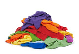 Fototapety Heap of colorful clothes