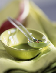 Matcha tea french dressing
