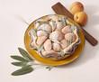 Apricot and sage tart