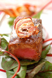 caramelized roast tuna with spices