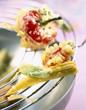 crunchy baby vegetable tempuras