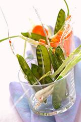 Caramelized spring vegetables