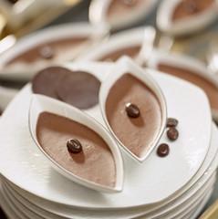 Cappucino cream dessert