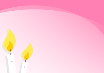 Pink birthday background