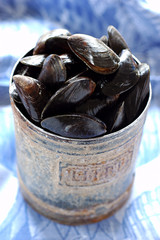 Liter of mussels