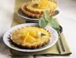 individual orange tarts