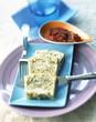 Artichoke cake terrine