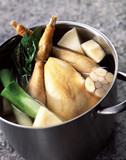 Chicken pot-au-feu
