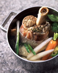 veal shank pot-au-feu