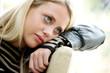 Teenage Girl Relaxing. Model Released
