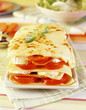 Tomato,ham and cheese lasagnes