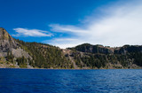 inside Crater Lake