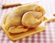 plucked chicken
