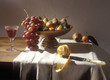 Dish of autumn fruits