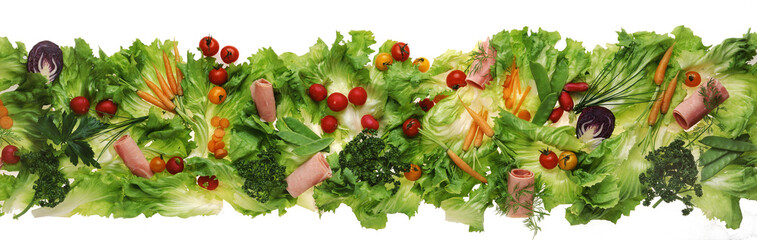 Salad frieze