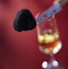 Truffle and syrupy wine