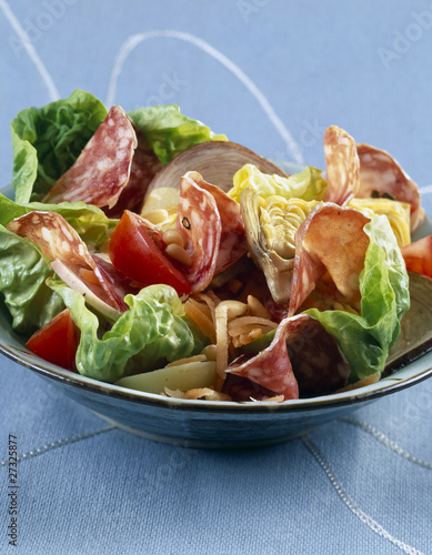 cooked meats salad
