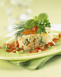 sea bream timbale