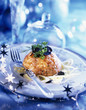 salmon tartare with truffle and shredded fennel