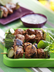 Chicken tandoori  brochettes