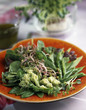 Spring greens and sprout salad