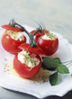 Tomatoes stuffed with Pierre Robert