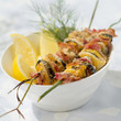 Mussel brochettes