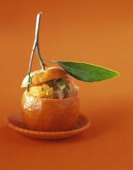 Clementine ceviche fish stew